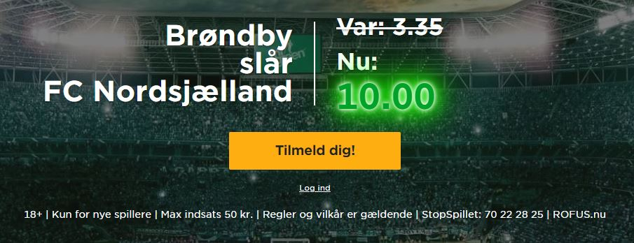 Mr Green - Nordsjælland-Brøndby