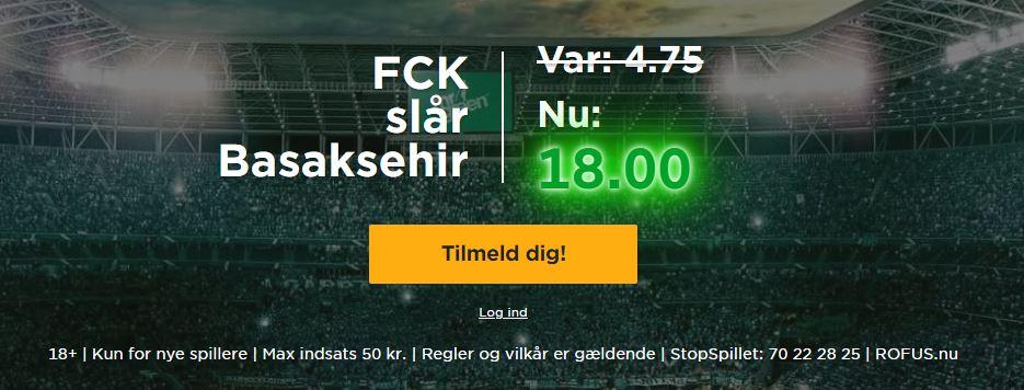 Mr Green Istanbul-FCK-kampagne