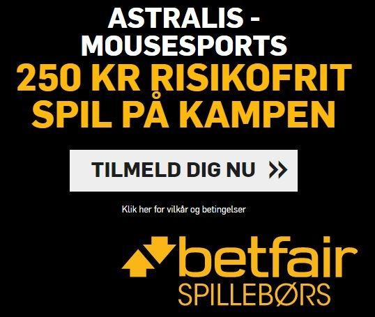 Betfiar Astralis vs mousesports - campaign