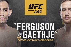 UFC 249 - Ferguson v Gaethje