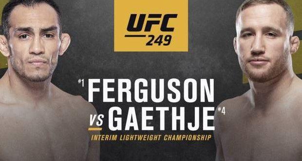 Odds på Ferguson vs Gaethje ved UFC 249