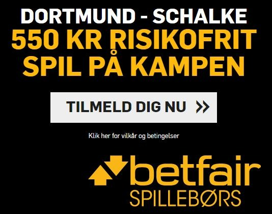 Dortmund-Schalke 04 - Betfiar campaign