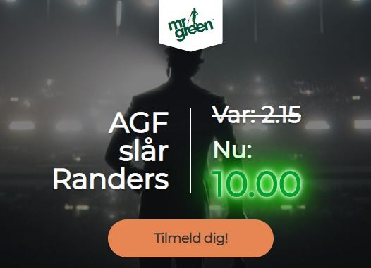 Mr Green campaign - AGF-Randers