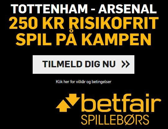 Betfair - Campaign - Arsenal-Spurs