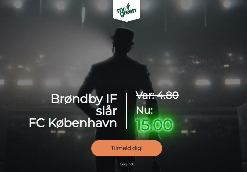 Mr Green campaign - FCK-Brøndby